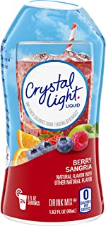 Crystal Light Liquid Berry Sangria Drink Mix (1.62 oz Bottle)