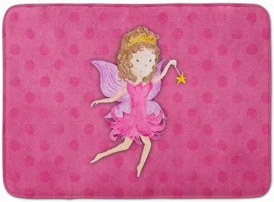 """Caroline's Treasures Fairy Princess Watercolor Floor Mat 19"""" x 27"""" Multicolor"""