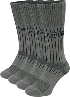 281Z Military Boot Socks - Tactical Trekking Hiking - Outdoor Athletic Sport (Foliage Green)