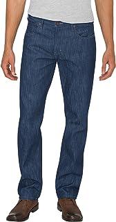 Dickies Men's X-Series Button Fly Regular Fit Straight Leg 5-Pocket Denim Jean