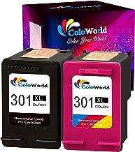 ColoWorld 301XL Cartuchos de tinta para impresora HP 301(