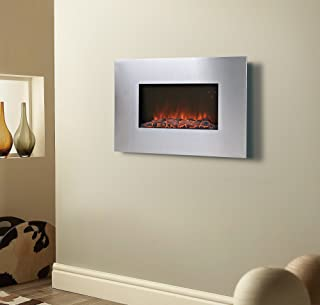 flamelux 35 in. Clarington Wall Mounted Electric Fireplace by Homestar