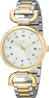 Invicta Women's 18800 Angel Analog Display Quartz Two Tone Watch