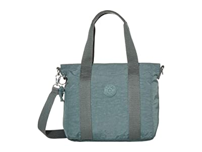 Kipling Asseni Mini Tote Bag (Light Aloe) Tote Handbags