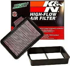 K&N engine air filter, washable and reusable: 2006-2017 Mitubishi (Lancer VIII, Lancer, Lancer Evolution, Lancer Raliart, Outlander, ASX) 33-2392