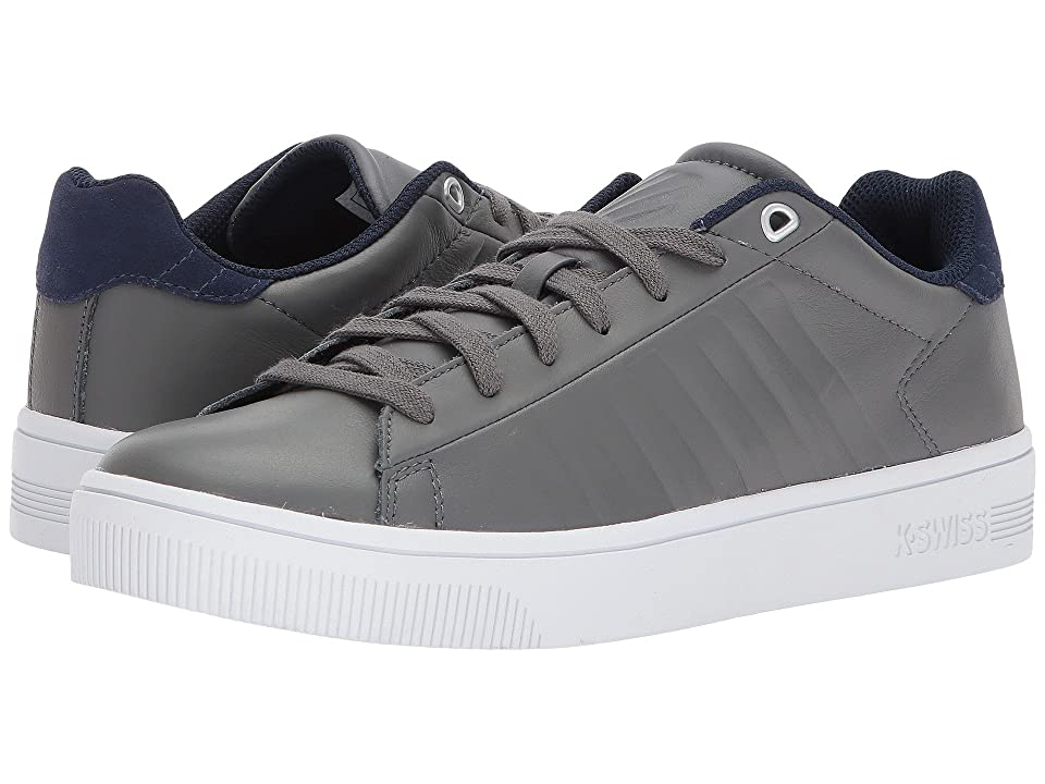 K-Swiss Court Frasco (Pewter/Patriot Blue) Men