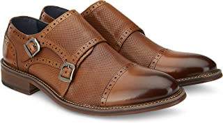 Giày cao cấp nam – Vintage Foundry Men's Zobra Monk Strap Dress