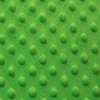 Snuggle Velour Bumps Apple Green (12 Yard Bolt)