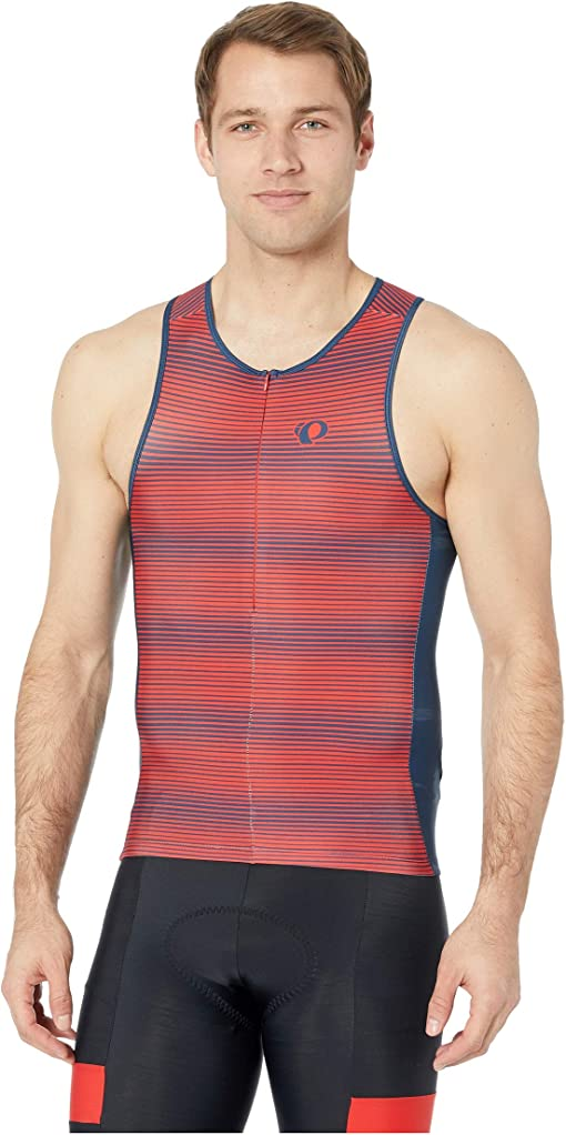Torch Red/Navy Stripe