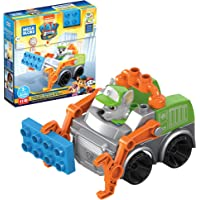 Deals on Mega Bloks PAW Patrol Rockys City Recycling Truck 11 Pieces