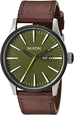 Nixon - The Sentry Leather X Timberline Valley Collection