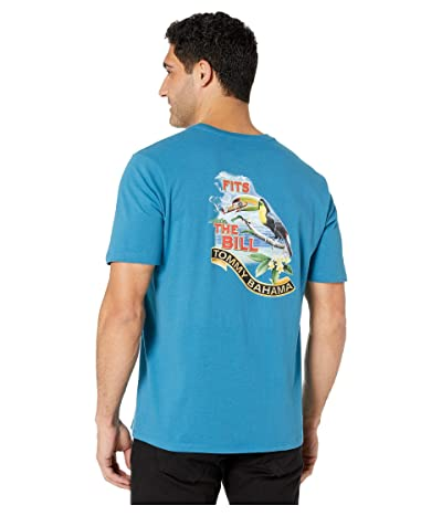 Tommy Bahama Fits The Bill Tee (Blue Allure) Men