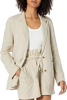 Marca Amazon - Mary - Blazer de Manga Suelta - blazers-and-sports-jackets Mujer por The Drop