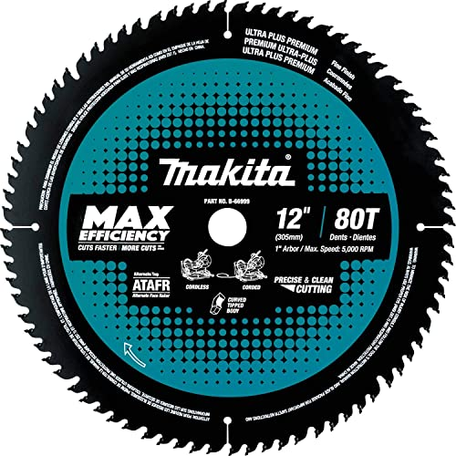 """discount Makita B-66999 discount 12"""" outlet sale 80T Carbide-Tipped Max Efficiency Miter Saw Blade online sale"""