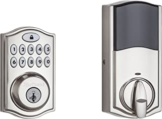 Kwikset SmartCode 914 Z-Wave Deadbolt with Home Connect, Satin Nickel