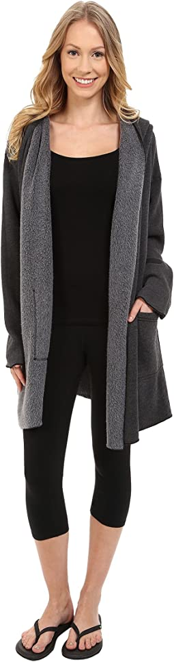 Hard Tail - Slouchy Wrap Hoodie Jacket