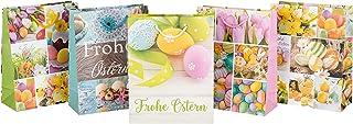 Idena 031447 – Sac Cadeau « Frohe Ostn, Taille 23 x 18 x 8 cm, Cadeau, Sac Cadeau, fête de Pâques
