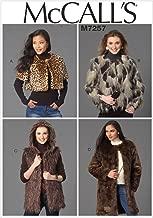 McCall's Patterns M7257 Misses' Shrug, Jacket, Vest & Coat, Z (Large-X-Large)