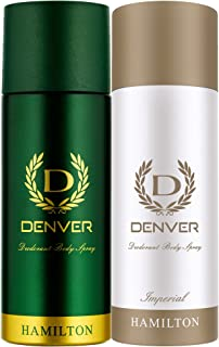 Denver Deo, Hamilton, 165ml and Deo, Imperial, 165ml