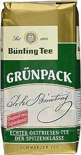 Bünting Tee Grünpack Echter Ostfriesentee 500 g lose 1 x 500 g