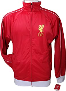 Icon Sports Men Liverpool Official Soccer Track Jacket Football Adult Size 005