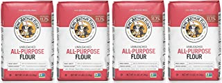 King Arthur, All Purpose Unbleached Flour, Non-GMO Project Verified, Certified Kosher, No Preservatives, 10 Pounds (Packag...