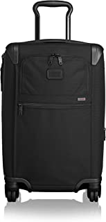 [トゥミ] スーツケース 公式 正規品 TUMI Alpha Discon インターナショナル・エクスパンド・4ウィール・キャリーオン 機内持ち込み可 保証付 56 cm 5.08kg BLACK