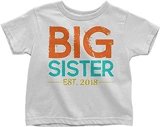 LeetGroupAU Big Sister Est. 2018 Announcement Youth Toddler T-Shirt