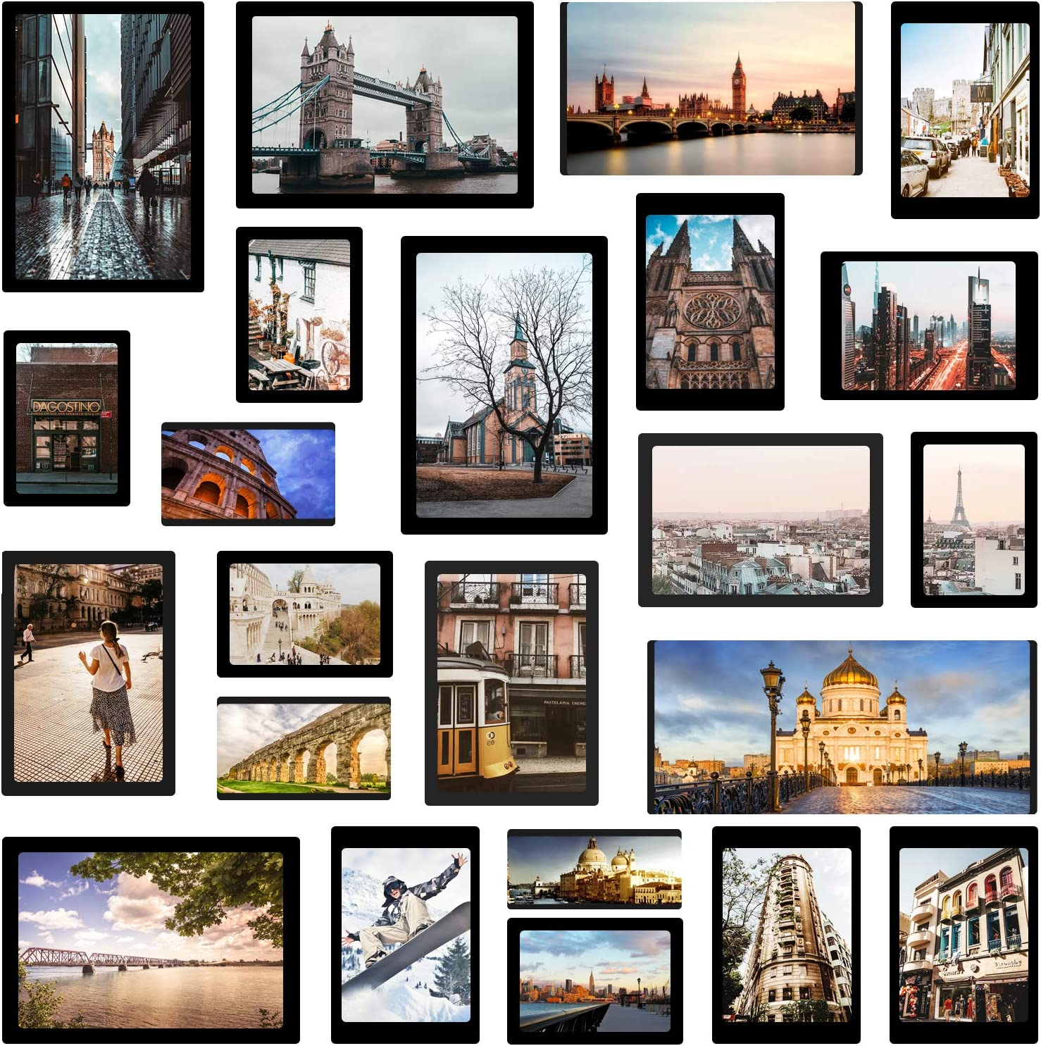 Magnetic Large special price Photo Picture Save money Frame for Refrigerator Ho Collage