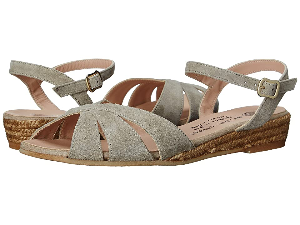 Vintage Sandal History: Retro 1920s to 1970s Sandals Eric Michael - Vanessa Natural Womens Shoes $119.95 AT vintagedancer.com