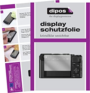 Transparente SWIDO/® Protector de Pantalla para Panasonic Lumix DC-LX100 II Anti-Huella Dactilar , Crystal Clear Invisible 2 Piezas Pel/ícula Protectora