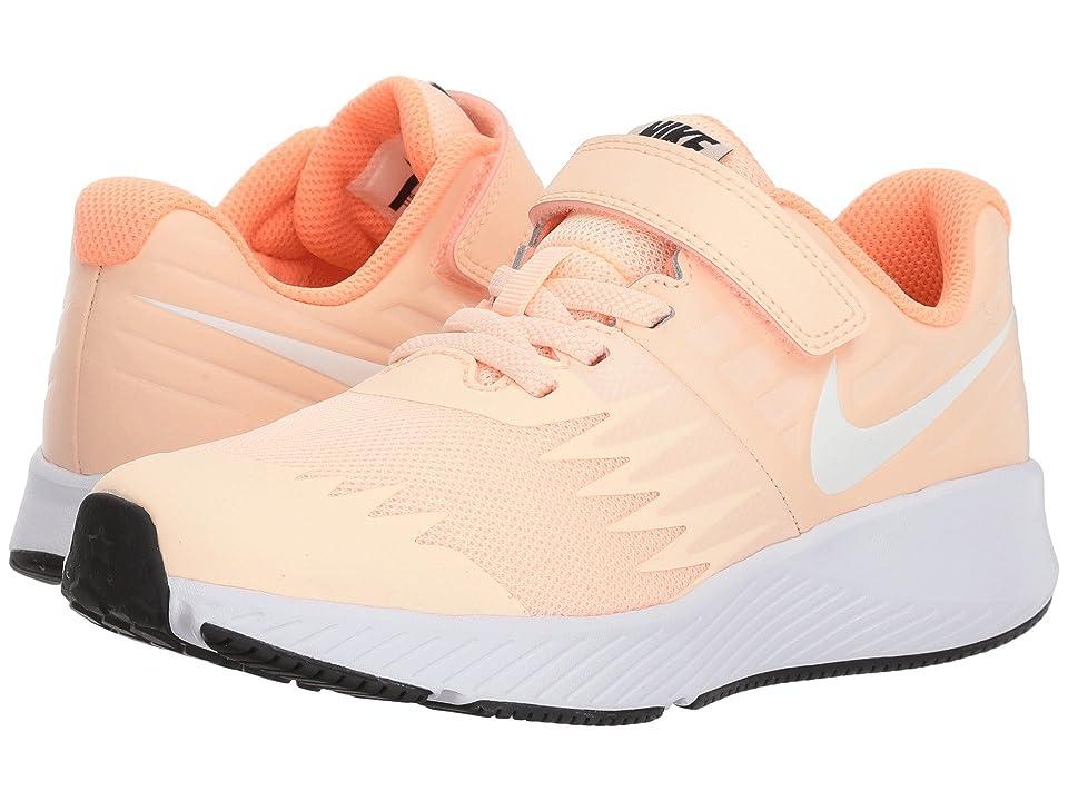 Nike Kids Star Runner (Little Kid) (Crimson Tint/White/Crimson Pulse/Black) Girls Shoes