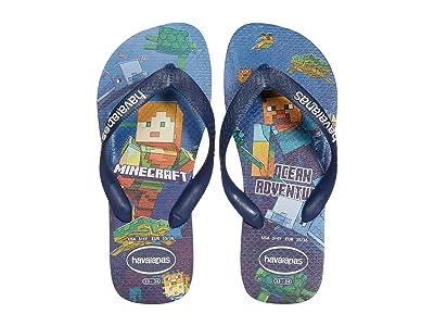 Havaianas Kids Minecraft Sandals (Toddler/Little Kid/Big Kid) (White) Girls Shoes