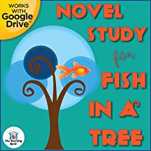 Novel Study Book Unit for Fish in a Tree by Lynda Mullaly Hunt Printable or for Google Drive™ or Google Classroom™