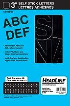 Headline Sign Stick-On Vinyl Letters, Black, 3-Inch (31311)