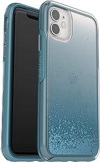 OtterBox Symmetry Clear Transparent, elegante und schmale Schutzhülle für iPhone 11, blau/transparent