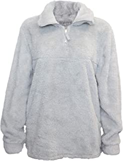 girls sherpa pullover