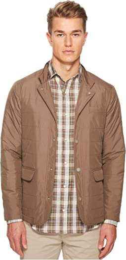 Nylon Hybrid Snap Front Jacket