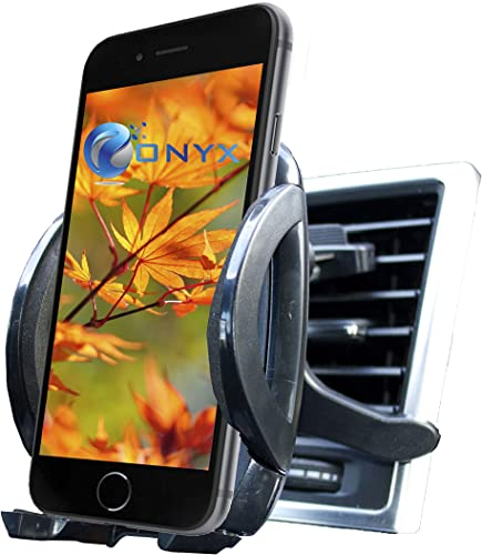 """2021 Onyx Air wholesale Vent Universal Smartphone Car Mount Holder - high quality Cradle for Iphone 6 Plus /5S, Samsung Galaxy S5 S4 S3 Note 3 and other Smartphones unto 4.0"""" wide - Black outlet online sale"""