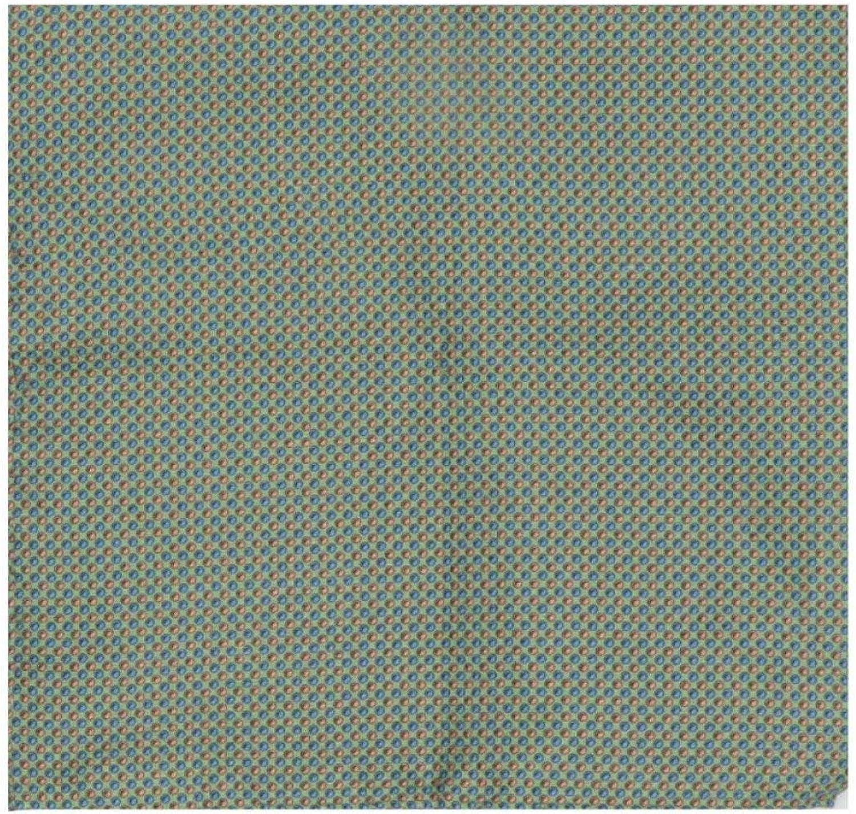 Robert Talbott Men's Silk 3-Dimensional Dot Pocket Square