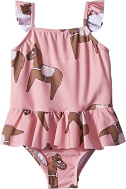 mini rodini Horse Skirt Swimsuit (Infant/Toddler/Little Kids/Big Kids)