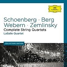 Schoenberg Webern Berg Complete Str Quartets