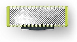 Philips Norelco OneBlade Cuchilla de recambio QP210/50 - Accesorio para máquina de afeitar (Shaving blade, Negro, Verde, Acero inoxidable, QP25xx, QP65xx)