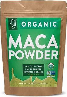 Organic Peruvian Maca Root Powder   Perfect for Smoothies, Baking, Energy   Raw From Peru   Non-GMO, USDA Organic   16oz R...