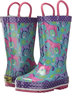 Western Chief Kids - Hannah Horse Rain Boots (Toddler/Little Kid/Big Kid)