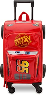 Lightning McQueen Rolling Luggage - Cars 3 Red