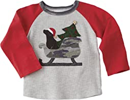 Mud Pie - Camo Sleigh Long Sleeve Shirt (Infant/Toddler)