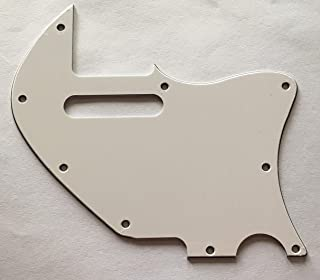 Custom For Merle Haggard f Hole Style Telecaster Electric Guitar Pickguard (3 Ply White)