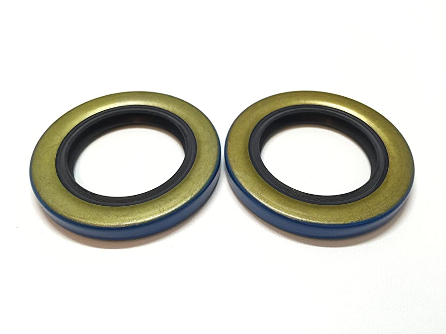 Western (Pack of 2) Americanprime Trailer Axle Hub Wheel Grease Seal 12192TB, 2000-2200# Double Lip 1.249'' X 1.983''