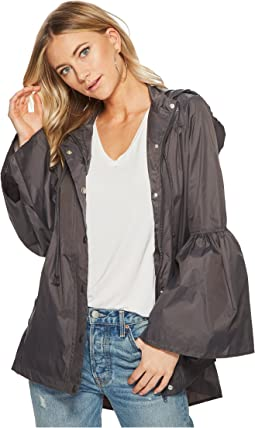 Yael Rain Jacket with Bell Sleeves